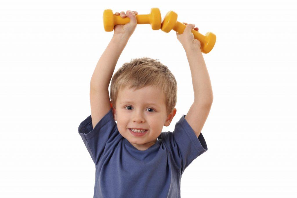 تمرینات تقویتی در کودکان فلج مغزی